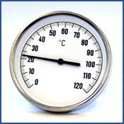 LVI-lämpömittari